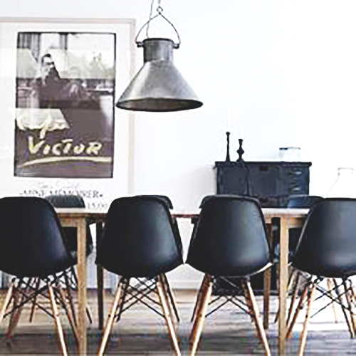 Black Eames Replica Chair · Black ...