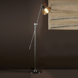 Silver Winslow Floor Lamp