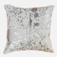 Tiffany Medium Silver Cushion