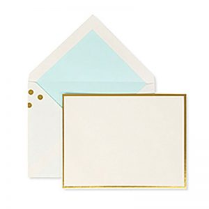 Kate Spade New York Gold Dots Correspondence Card Set