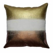 Palam Bronze/Gold Foil Cushion