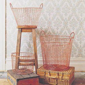 Medium Copper Wire Basket