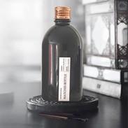 matches bottle black + copper
