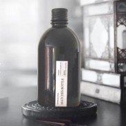 Apothecary matches bottle