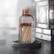 Matches Bottle Copper Small