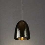 charcoal black pendant light