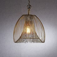 BAKER PENDANT LIGHT GOLD