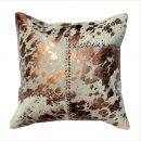 Copper Cross Stitch cushion