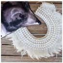 LALI FEATHER TRIBAL NECKLACE