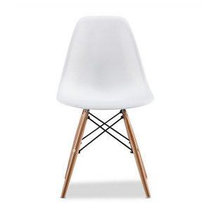 White Eames Replica Eiffel Dining Chair