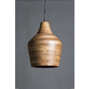 Bistro Wooden Pendant Lamp