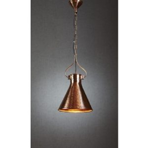 Malawi Hanging Lamp In Copper