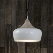 Milano Hanging Lamp in White