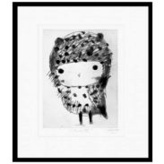 Chouette Framed Print