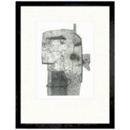 Right Face Framed Print