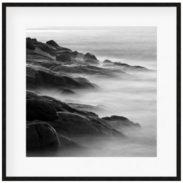 Rocks In Mist I