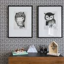 Chouette + Frippe Framed Prints