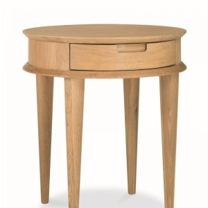 Johansen Nordic Oak Lamp Table