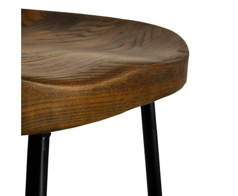 Dark Elm Tractor Bar Stools