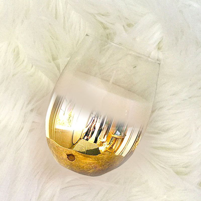 Ombre Gold Stemless Wine Glass Candle The Gilded Pear  : gold candle 800px from www.thegildedpear.com.au size 800 x 800 jpeg 96kB