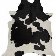 Cow Hide Black White Floor Rug