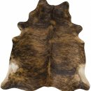 Cow Hide Brindle Floor Rug
