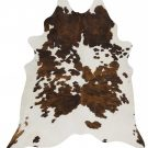 Cow Hide Black Tri Colour Floor Rug