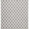 Skandinavian Grey White Floor Rug