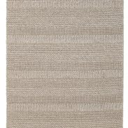 Scandinavian Grey Chunky Knit Floor Rug