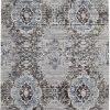 Charcoal Navy Flat Weave Designer Floor Rug