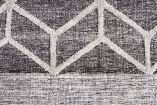 Winter Grey Pulse Floor Rug