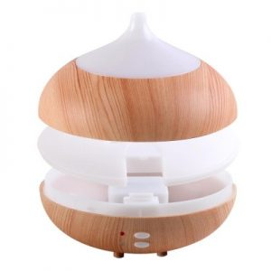 Electric Oil Diffuser White + Light Wood 300ml