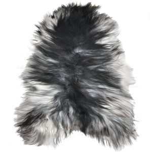 Natural Grey Icelandic Sheepskin Rug