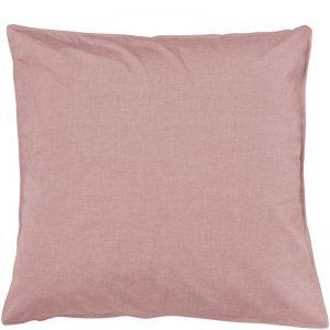 Dusky Red Vintage Softwash CottonEuropean Pillowcases Set