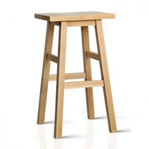 Scandi Beech Wood Bar Stools