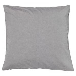 Smokey Grey Vintage Softwash Cotton European Pillowcases