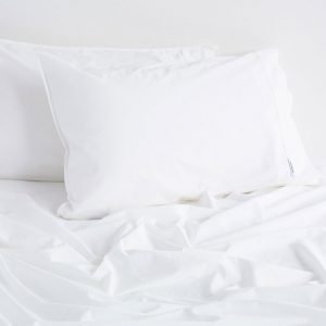 White Vintage Softwash Cotton Pillowcases