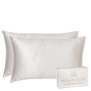 Ivory Beautysilks Silk Pillowcases