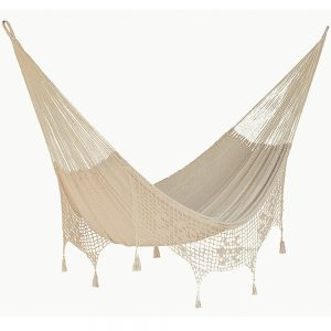 Outdoor Cotton Mexican Hanging Hammock
