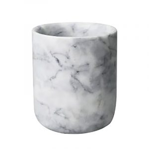 XL Grey Marble Candle Jar