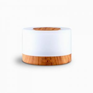 Round Light Wood Grain Diffuser
